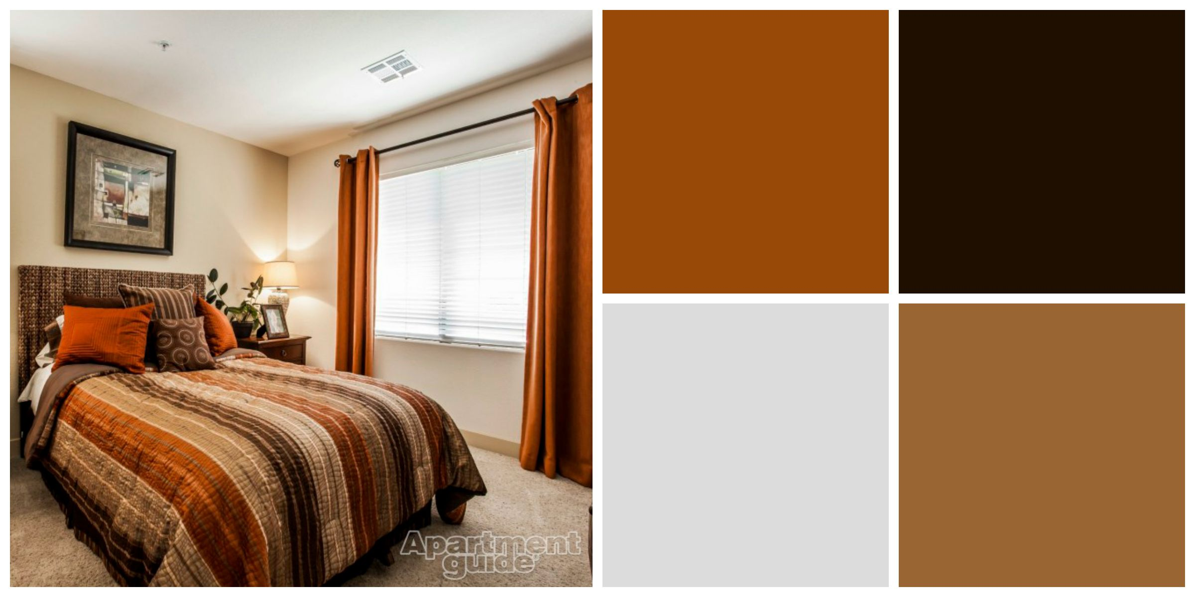 Color Color Palette Arizona Colors Earth tones in your bedroom can