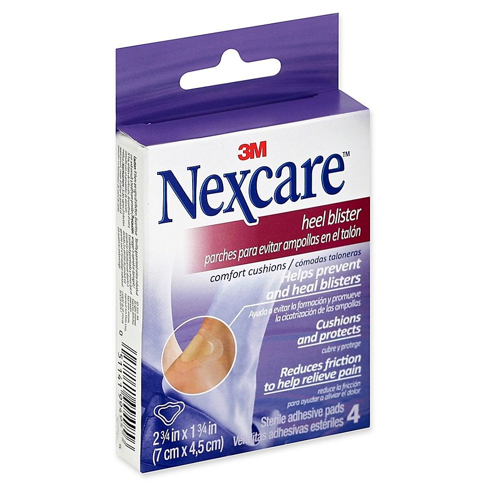 Nexcare 4 Count Sterile Heel Blister Adhesive Pads In 2020 Heel