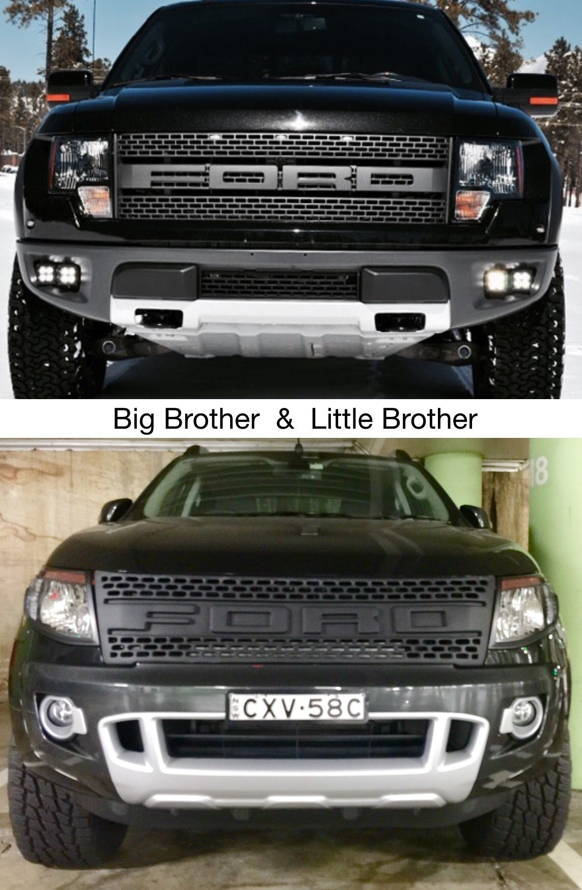 Ford Raptor Vs Ford Ranger
