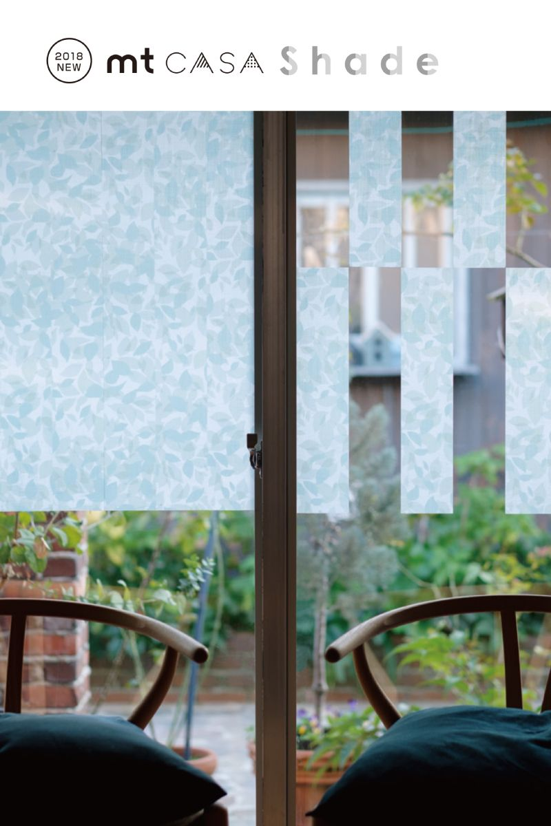 楽天市場 Mt Casa Shade Mina Perhonen 窓用 貼るカーテン 紫外線 99 カット マスキングテープ インテリア 窓 目隠し カモ井 送料無料 家具 インテリア雑貨のmashup マスキングテープ インテリア インテリア 家具 インテリア 窓
