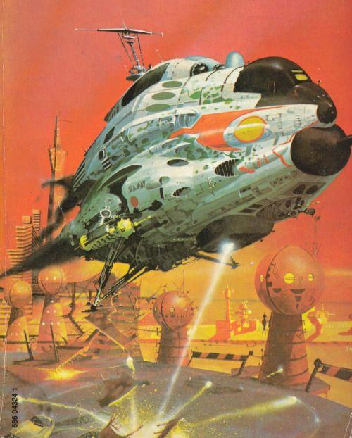 Vintage Sci Fi Illustrations Retro Science Fiction: Peter Andrew Jones