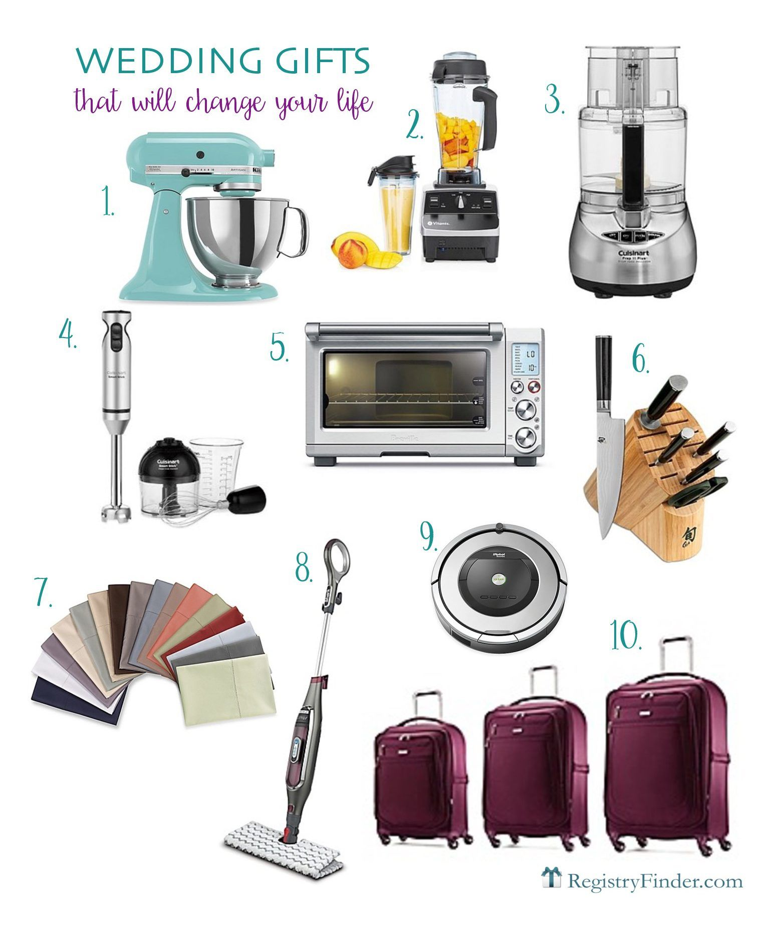 There Are Some Wedding Registry Items That Once You Receive Will Wonder How