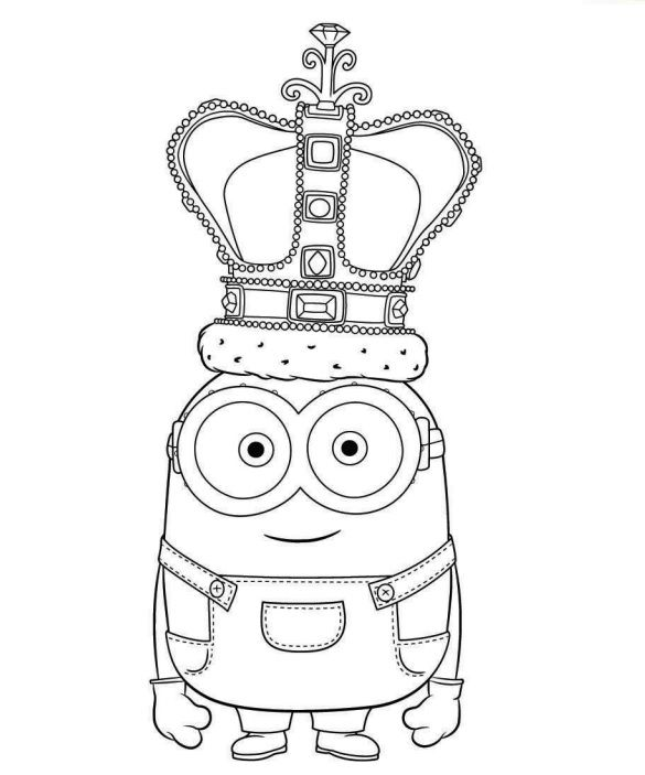 coloriage minion imprimer 19 coloriage pinterest coloriage m chants et la star. Black Bedroom Furniture Sets. Home Design Ideas