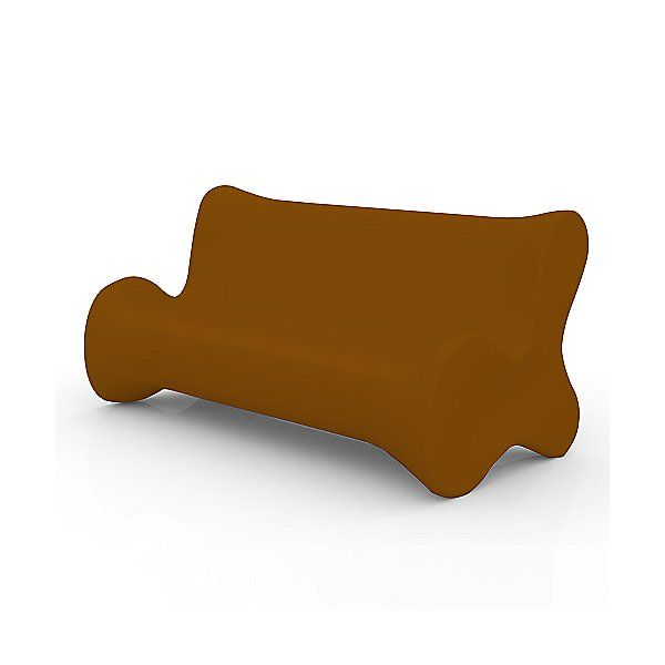 Photo of Doux Sofa by Vondom – Color: Matte Finish Bronze (51002-BRONZE)