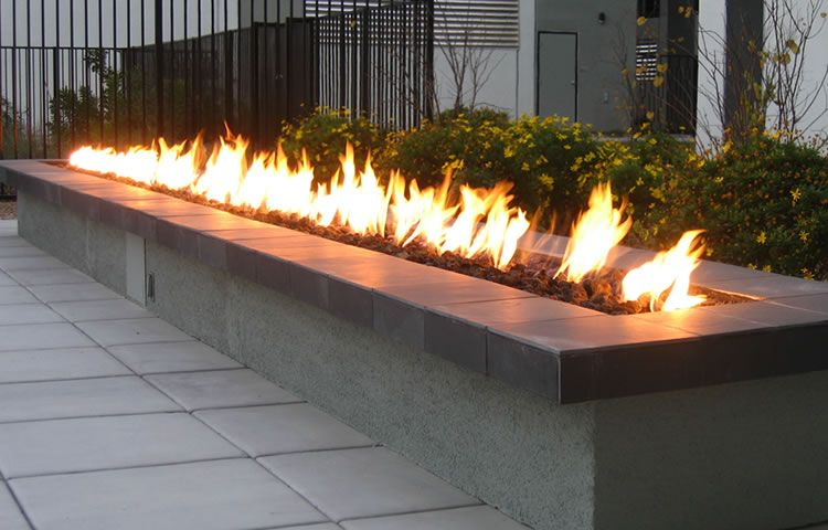 Gallery Of Custom Fire Features By Design Remote Control Module For Outdoor Firepits
