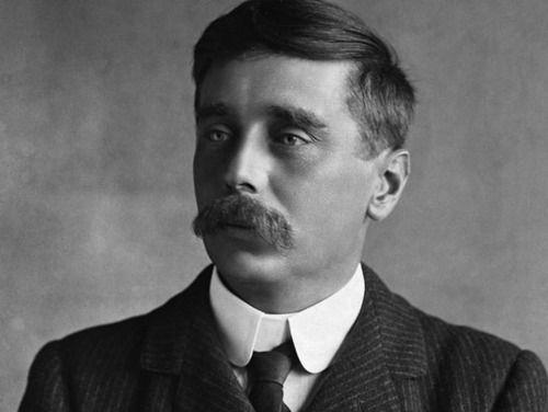 H.G. Wells, author