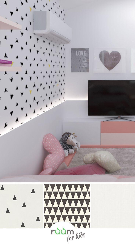 Inspiration Kinderzimmer Kindertapete Mädchen
