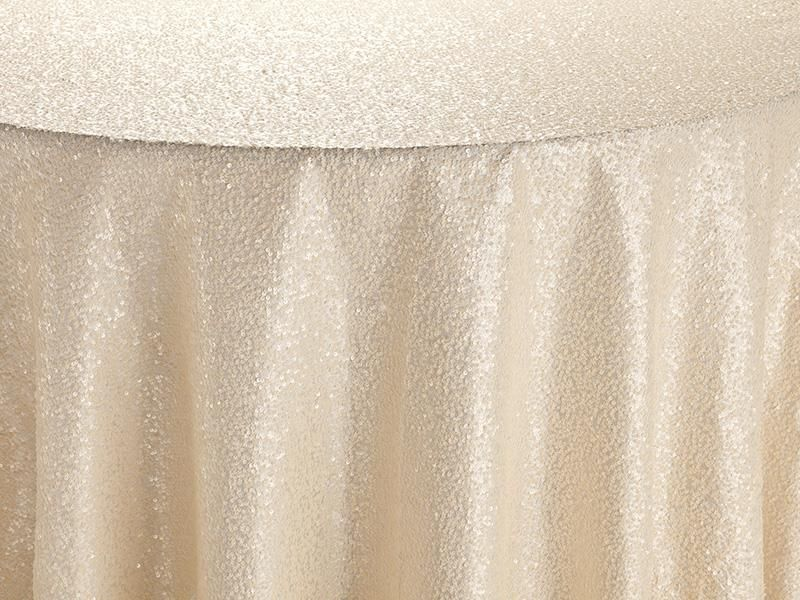 Ivory Gabriella Table Linen | BBJ Linen #tablescape #bbjlinen #bbjtablefashions #inspiration #wedding #new #newproducts