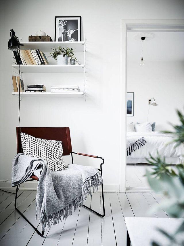 Fresh Blue And White Home COCO LAPINE DESIGN Decor Interior - Apartment soft minimalist decor