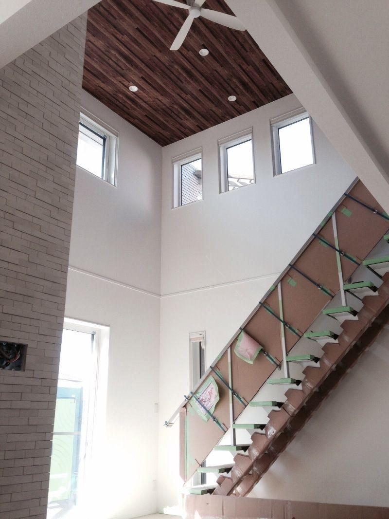 木目天井 シーリングファン エコカラット やり過ぎ 天井