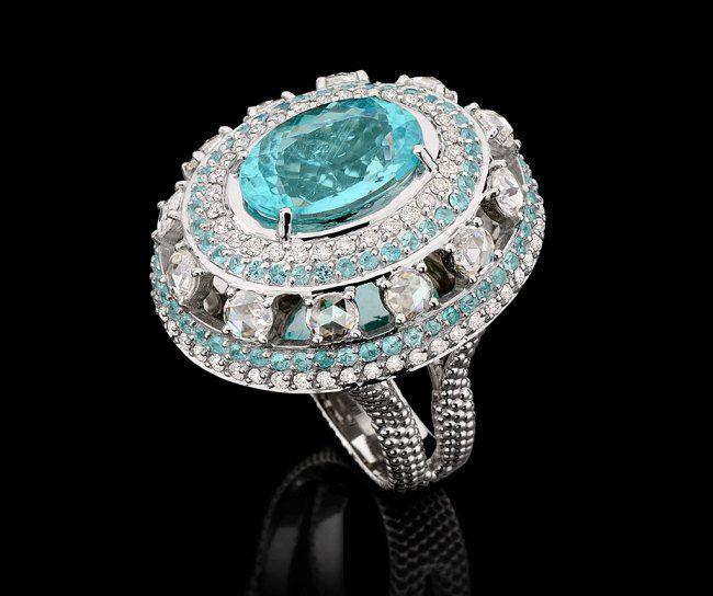 Роскошное кольцо Carla Amorim
