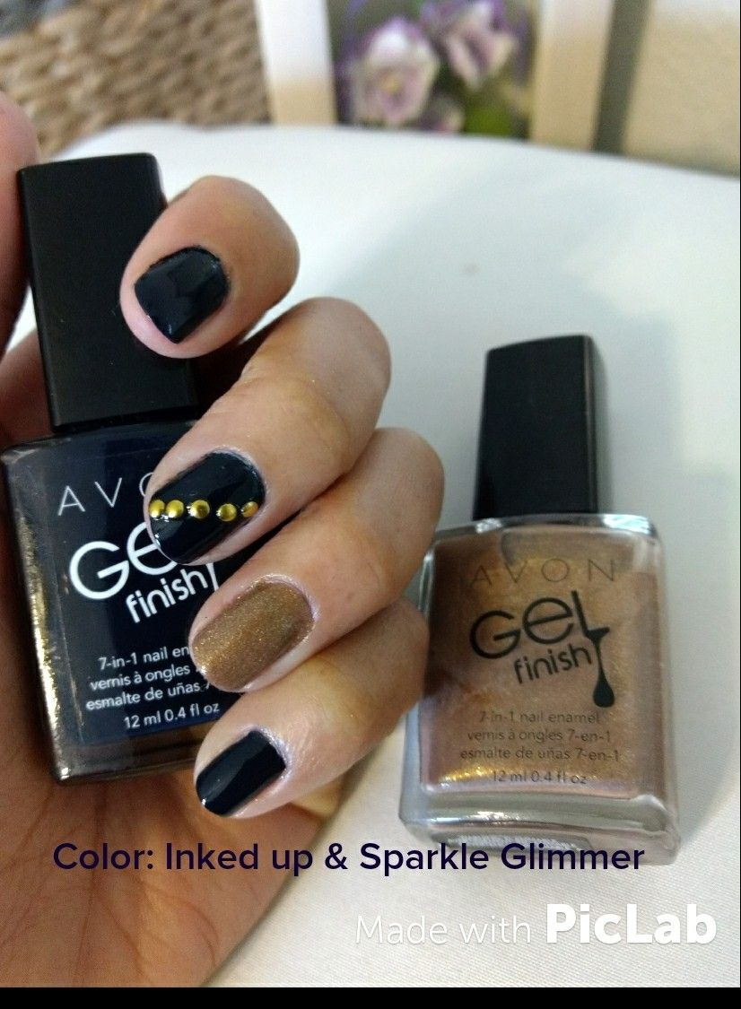 Gel finish 7in1 nail enamel with images gel manicure