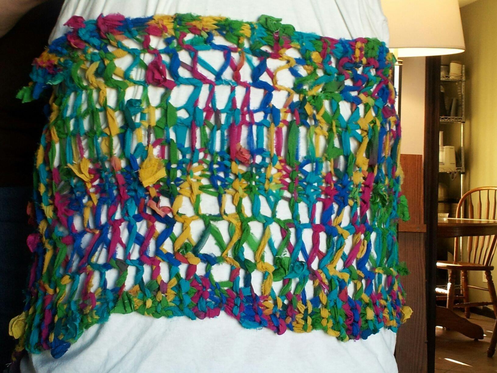Imminent Failure Free Knitting Pattern for Silk Chiffon Ribbon Yarn ...