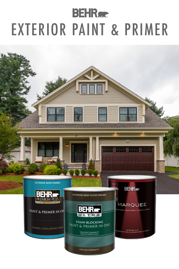 Make 2020 The Year Of Home Makeover Projects Behr Exterior Paint