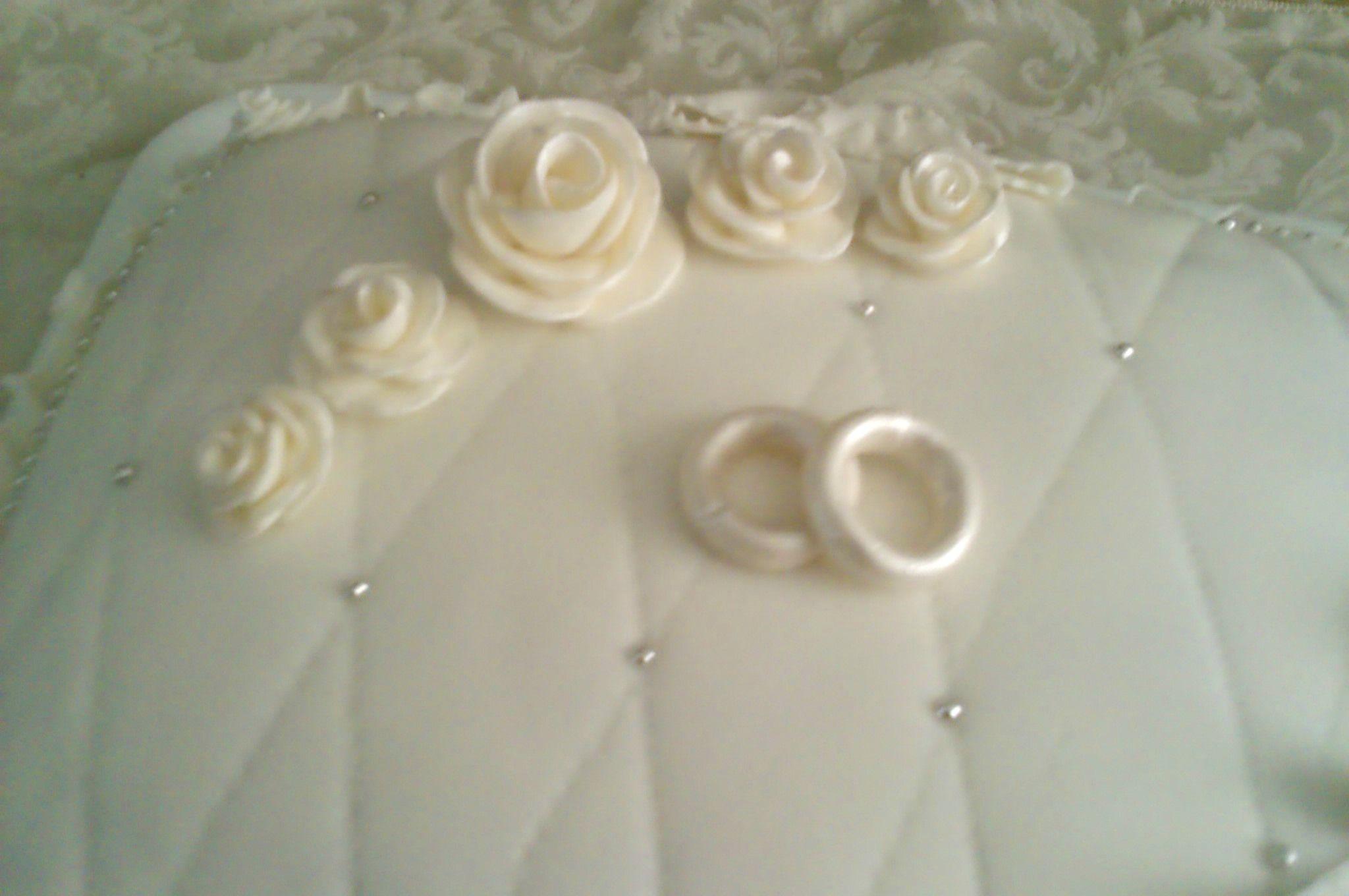 Torte Anniversario Di Matrimonio Pasta Di Zucchero.Dolci In Pasta Di Zucchero Anniversario Matrimonio Cerca Con