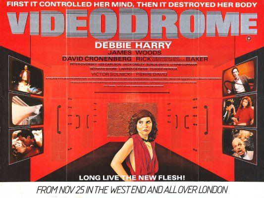 More Videodrome. | Movie posters, Alternative movie ...