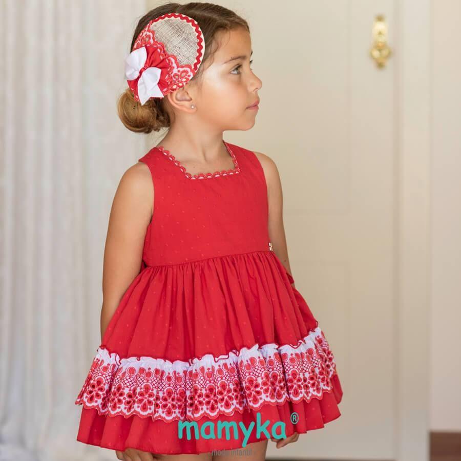 Petit Vuelo AmapolaPrimavera Vestido 2019Dolce NiñaColección k8nwO0P