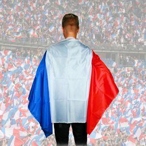 Cape drapeau français à 4,90 €