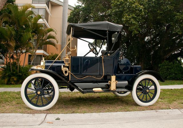 Model T Ford Early Brass Era Vintage Cars American Classic