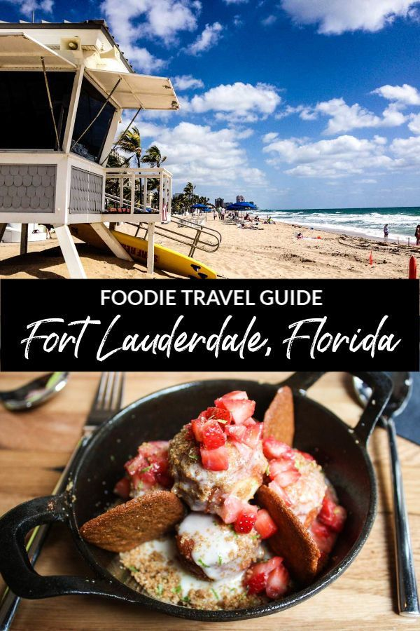Looking for a Florida beach destination that also has fantastic local restaurants, abundant waterfront dining, and delicious food? Fort Lauderdale has it all! Discover where to eat and drink, things to do, and the best hotels for staying near the beach in this foodie travel guide to Fort Lauderdale, Florida, USA! #FortLauderdale #FtLauderdale #Florida #USA #FloridaVacation #FloridaTravel #FloridaTrip #foodtravel #foodietravel #traveltips #travelguide #destinationguide #wheretoeat #lovefl