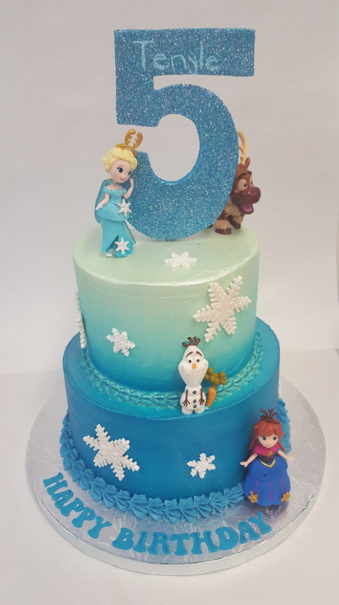 Awe Inspiring Frozen Birthday Cakes Frozen 5Th Birthday Cake Chocolate Earth Funny Birthday Cards Online Bapapcheapnameinfo