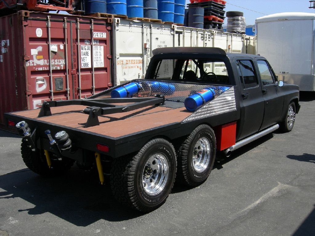 All Chevy 1965 chevy c30 : 61 GMC 6 wheeler Pickup Custom... | Pick Up Truck | Pinterest ...