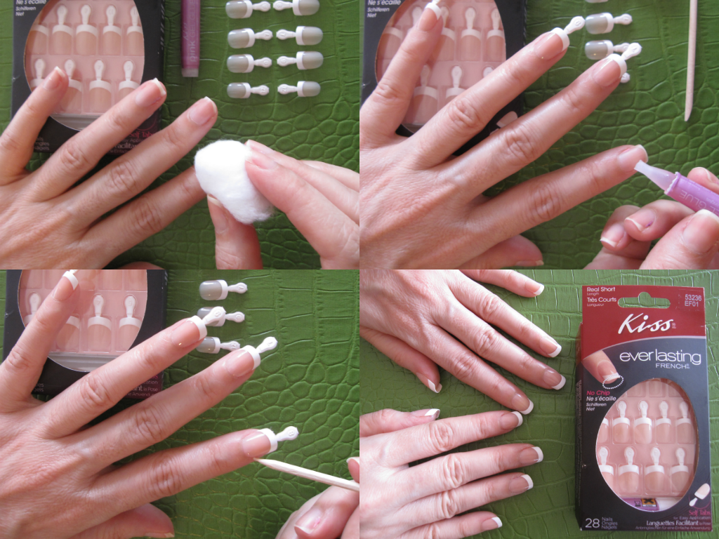 I Love Kiss Everlasting French Nails They Look So Naturals And It Is Super Easy To Apply They Re Real Short Perfect For Press On Nails Kiss Nails French Nails