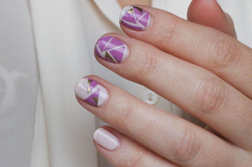 Nail Art - Manhattan Nagellack - Anleitung - Tutorial