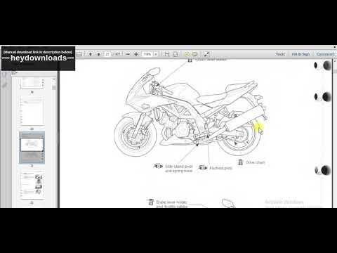 Suzuki Sv1000s D F K3 Motorcycle Service Repair Manual