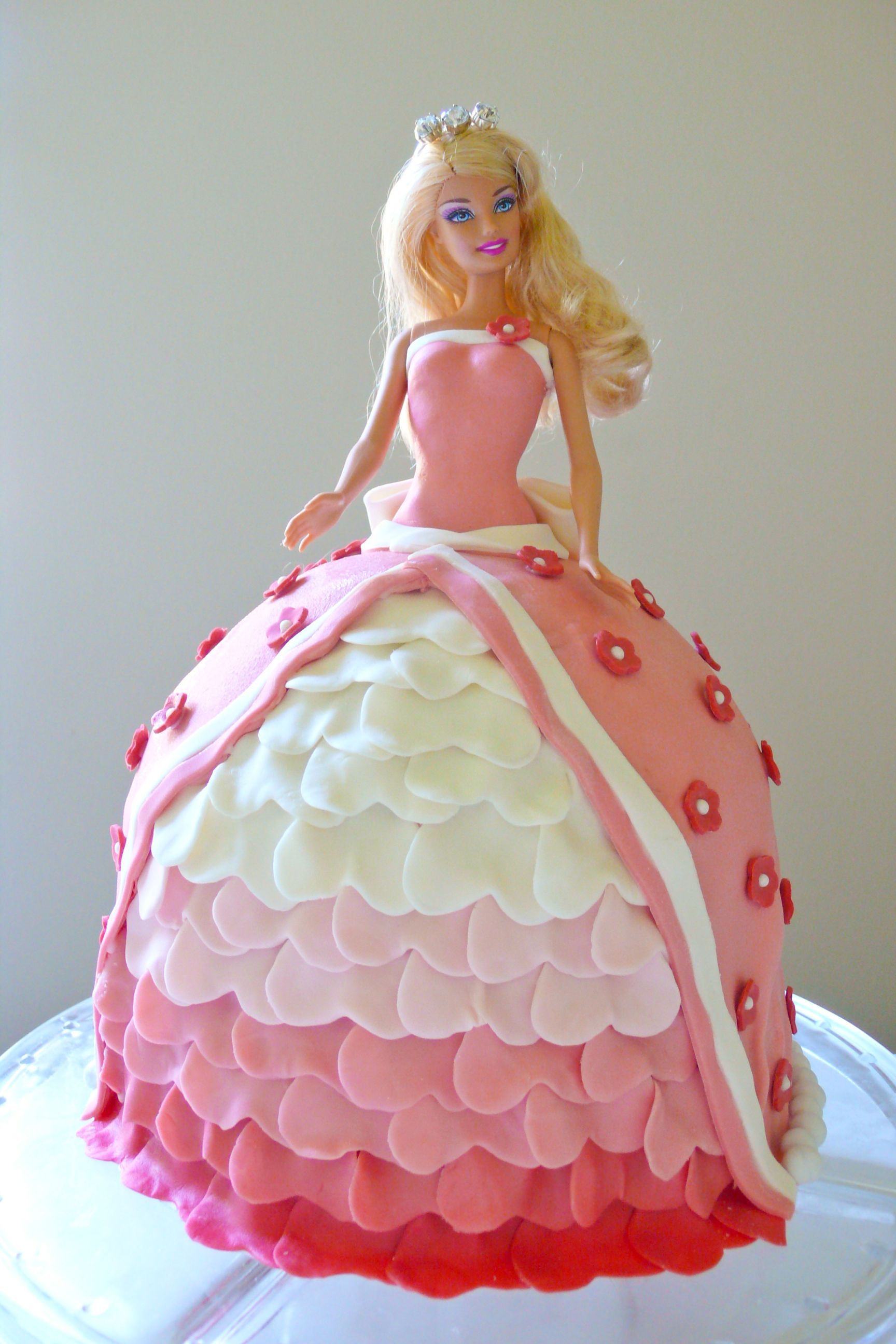 Enjoyable Dream Princess Doll Cake For Every Little Girl And Some Ex Little Birthday Cards Printable Riciscafe Filternl