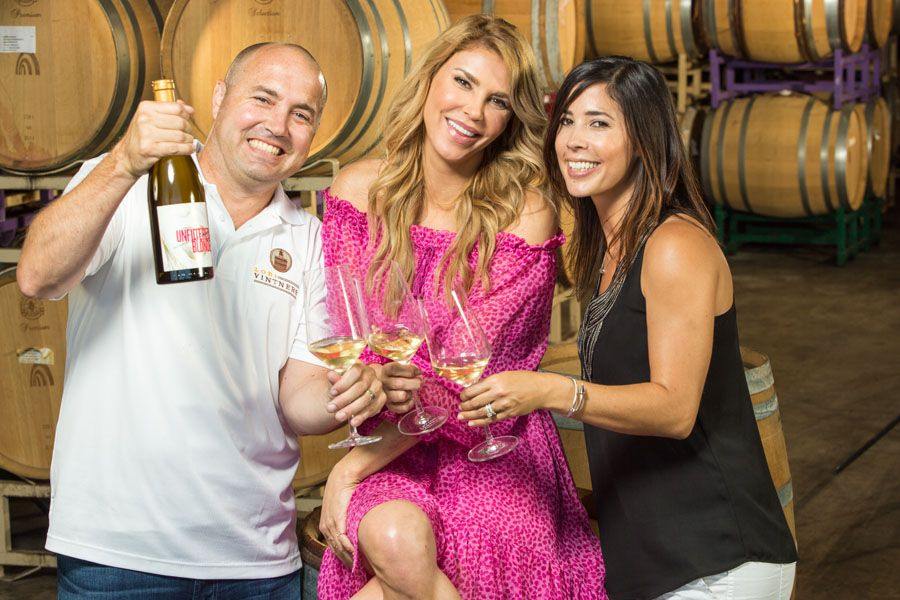 Real Housewife and winemaker: Brandi Glanville releases 2013 Unfiltered Blonde Chardonnay with the Rippey Wine Company.