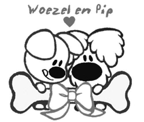 woezel en pip kleurplaat kleurplaten hond tekeningen