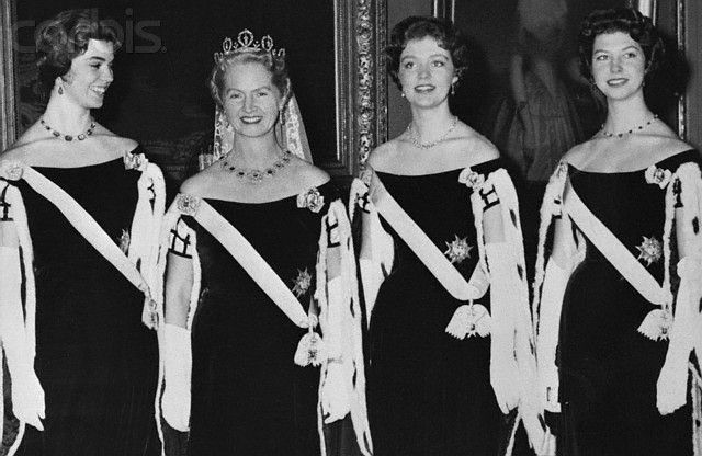 Quartet of Swedish Princesses