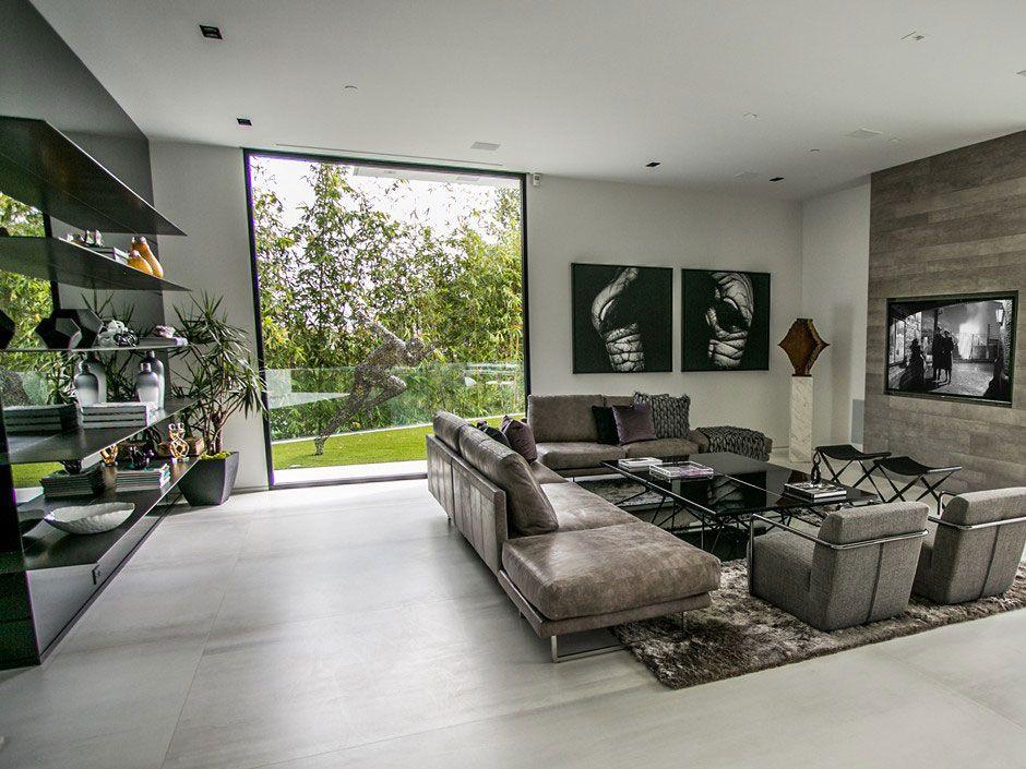 Beverly Grove Residence by Avi Osadon Pinterest Men cave