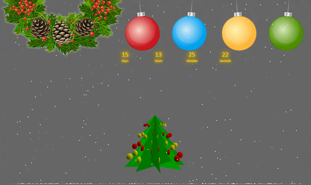 Jquery Christmas Effects Jquery Free Web Christmas