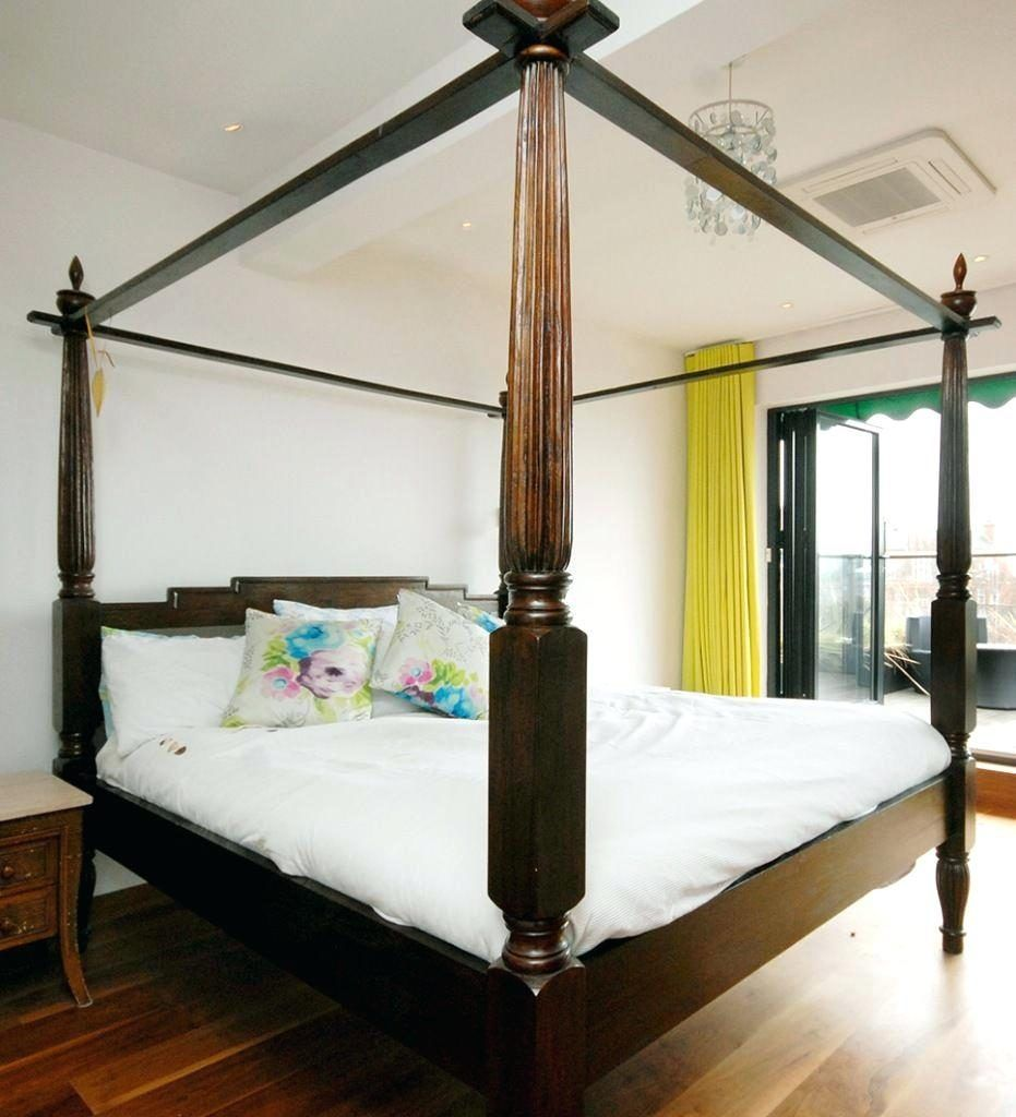 super king size bed frame 4 poster bed frames ideas pinterest