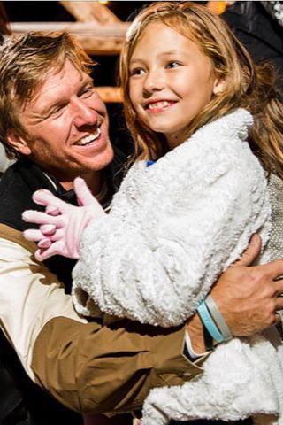 Chip Carter Gaines And His Daughter Ella Magnolia Fixer Upper