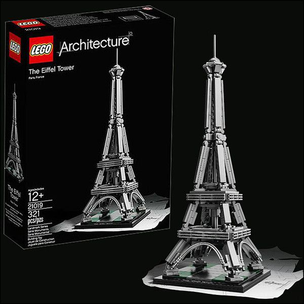 Lego Architecture Eiffel Tower Wishful Thinking Pinterest Lego