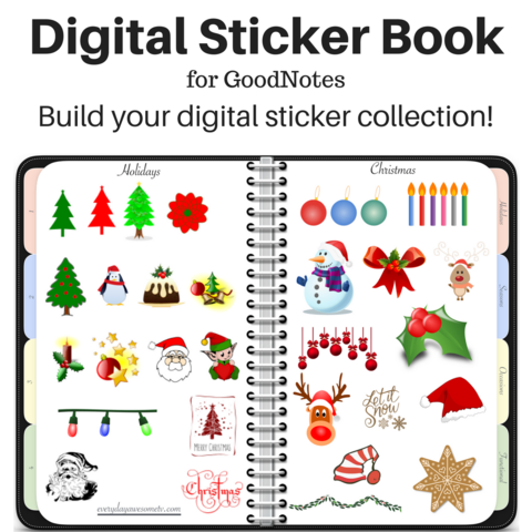 The New Digital Sticker Book For Goodnotes