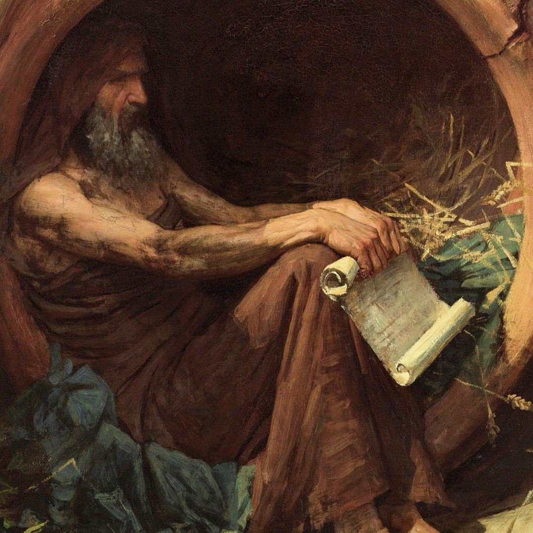 Philosophers Squared Diogenes Of Sinope Diogenes Of