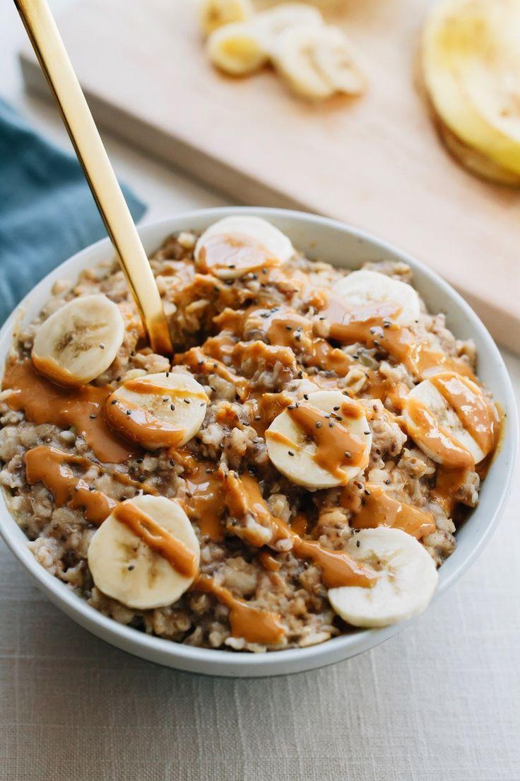 Photo of Peanut Butter Banana Oatmeal – Eating Bird Food