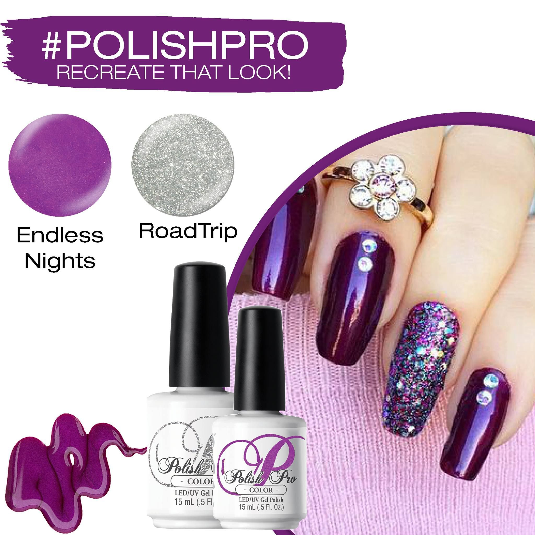 Polish Pro Color in 2019 | Sagittarius - ZODIAC Inspired Nails | Gel ...