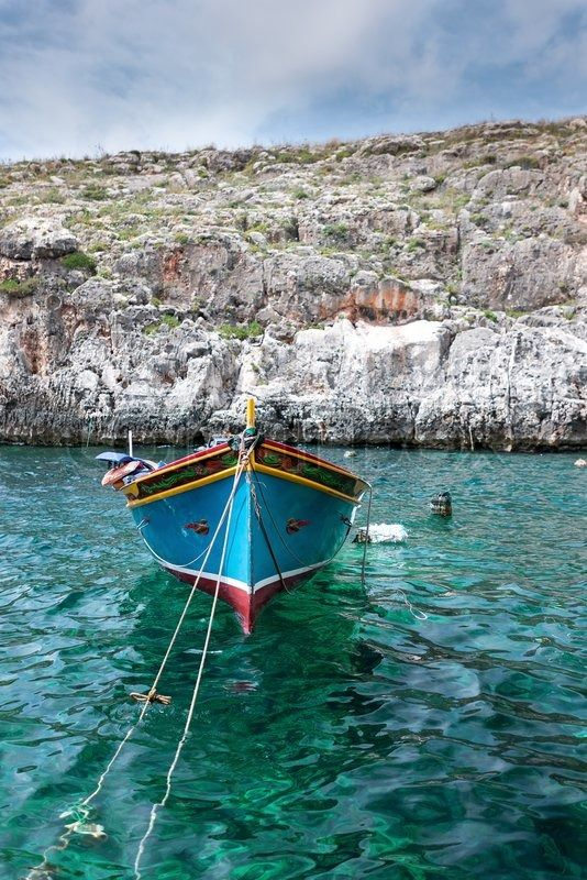 Traditional fishing boat from the Maltese islands │ #VisitMalta visitmalta.com