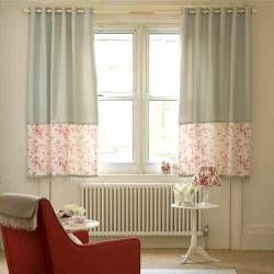 Add A Block At The Bottom To Give Visual Weight To Short Curtains   Concept  For LR/kids Room?