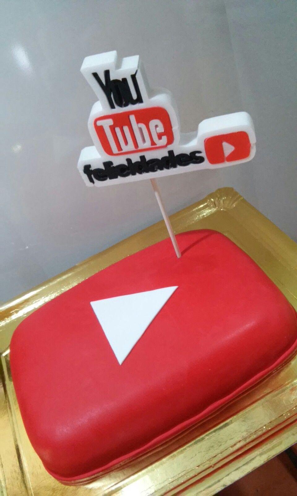 Youtuber cake pastelería Pinterest