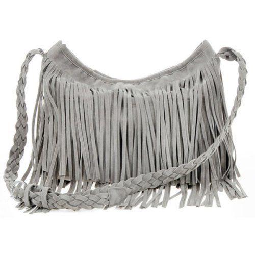 THG Fringe Gray Tassel Faux Suede Messenger Cross Body Tote Shoulder Handbags THG,http://www.amazon.com/dp/B00DU8OKHS/ref=cm_sw_r_pi_dp_aFMYsb1X6J5D0QVT