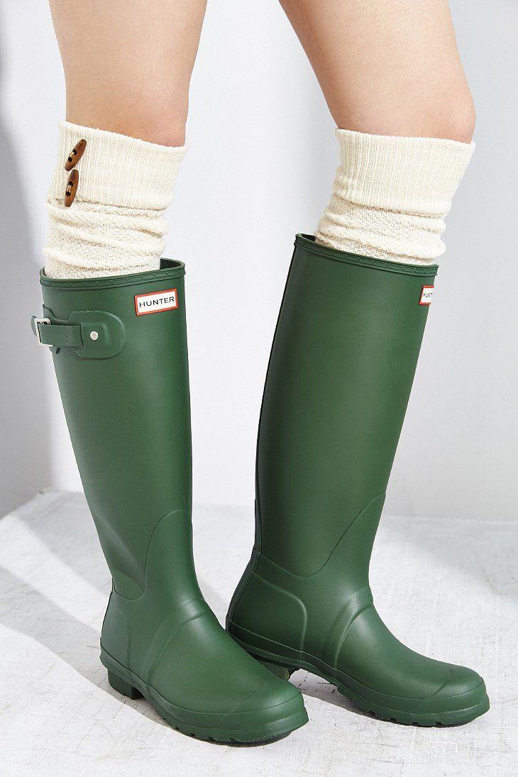 Hunter Original Tall Rain Boot Rain Boots Boots Hunter Boots