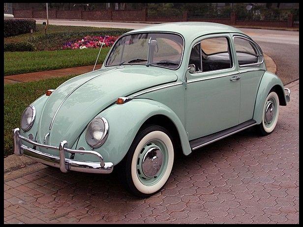 1966 Sea Blue Vw Beetle For Sale Oldbug Com: SOLD L633 VW Blue 67 Beetle Volkswagen Beetles T