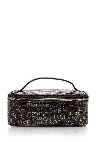 41c494f74f7c Love Print Makeup Bag | FOREVER21 - 1049257837 | Gift Ideas | Bags ...