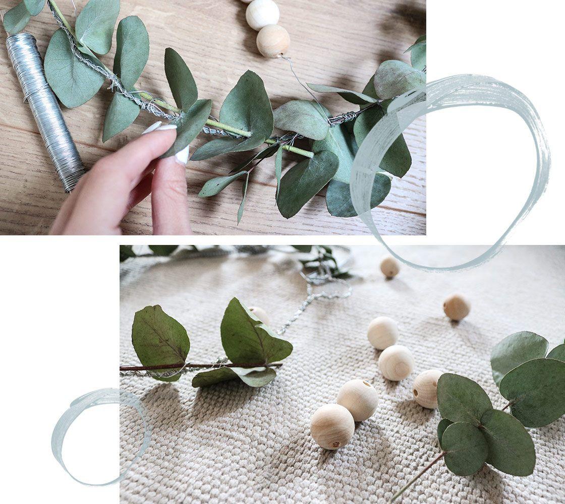 DIY: Eukalyptus-Kranz zum Selbermachen - WOHNKLAMOTTE.de   Einfacher ...